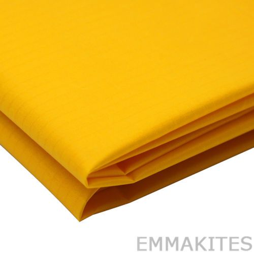 Precio:US $4.79  NEW-oscuro-amarillo-impermeable-Ripstop Nylon-Tela-PU-Coated-para-Kite-hamaca-1-Y