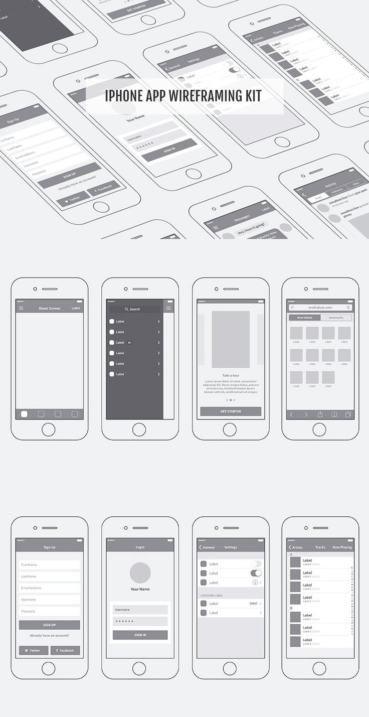 This free download from @medialoot is ideal for quickly wireframing your mobile app ideas. Included are 12 screens with plenty of UI elements and components across them. Each component can be arranged or customised to suit your needs. And if you prefer to sketch on paper, these elements are a great way of converting your ideas into smart, presentable designs.
