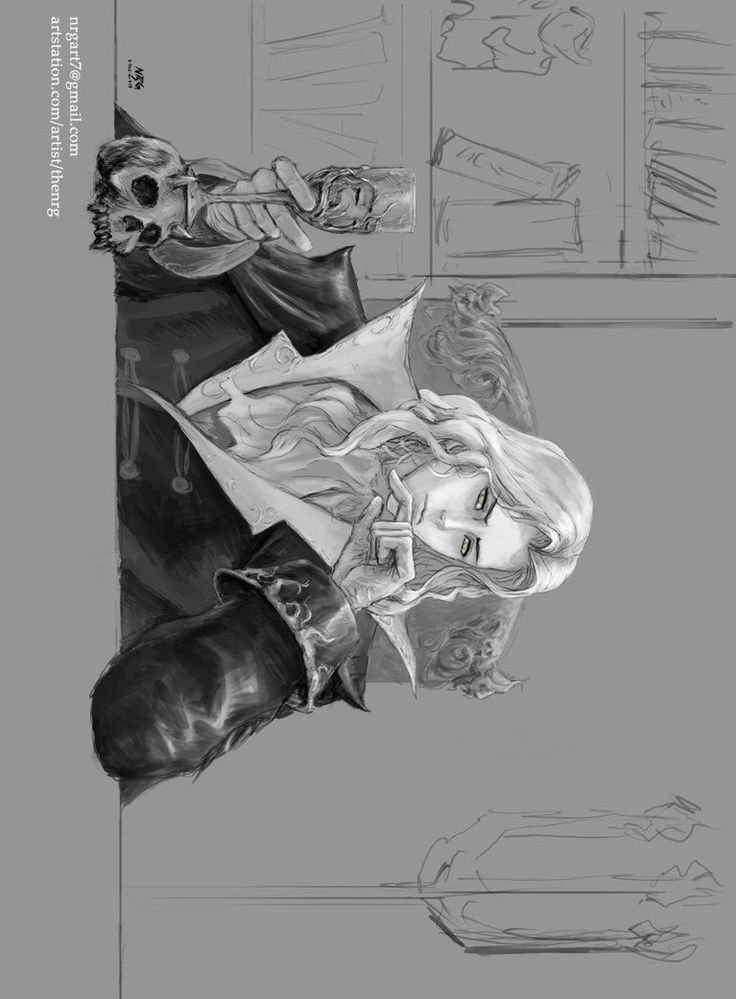 Alucard sketch by The NRG by NRGart7