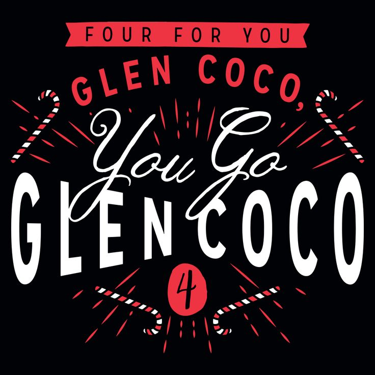 """You Go Glen Coco T Shirt. Here's some of the dialogue from the Mean Girls scene that this fine shirt design is based off: """"Ho! Ho! Ho! Candy cane gram ... 4 for Glen Coco. You go Glen Coco ... None for you Gretchen Weiners.""""  Isn't it true the girls can be so mean!? Boys can be mean, and beat each other up and call names, but the psychological brutality of girls intent on doing harm is ghastly.   #MeanGirls"""