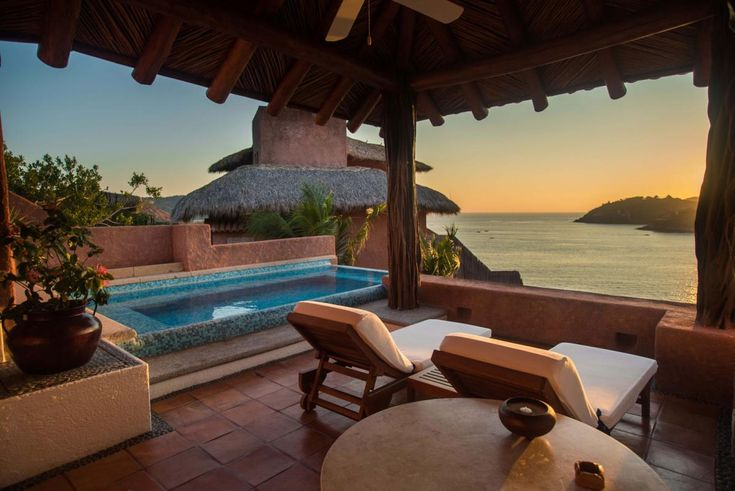 Suite pool : La casa que canta hotel Ixtapa Zihuatanejo : Luxury suite hotel Ixtapa Zihuatanejo, 5 stars suite hotel Ixtapa Zihuatanejo La Casa Que Canta - Hotel Ixtapa Zihuatanejo Mexico - Luxury suite Hotel Ixtapa Zihuatanejo - 5 Stars suite Hotel Ixtapa Zihuatanejo - The most Romantic Hotel Zihuatanejo Mexico