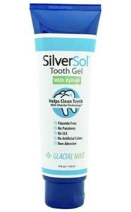 Combines the unique benefits of our patented SilverSol Technology® with Xylitol to create a powerful new tooth gel. SilverSol® ToothGel – 120ml (4oz) #xylitol