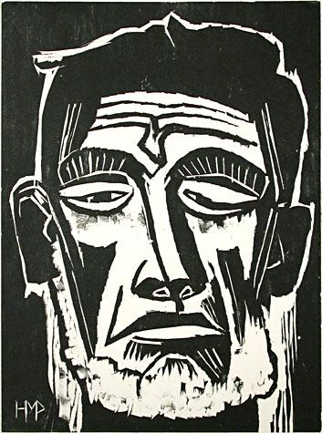 expressionist woodcuts - Google Search