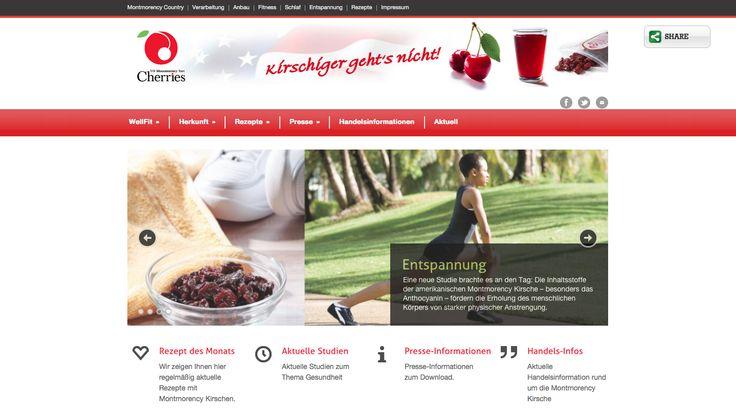 Erstellung einer wordpress-Website für kirsch-genuss.de