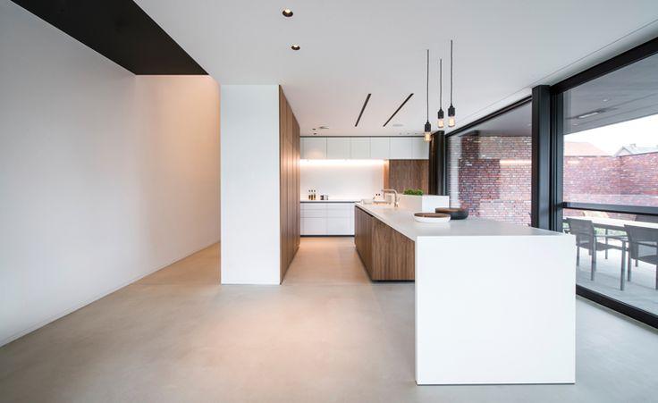 Raf Segers Architect | Woning SJ Maaseik - mooie vloer