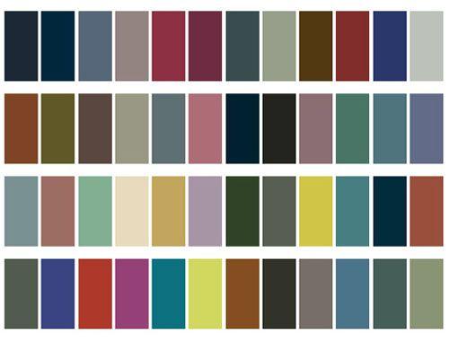 Tabla de colores de pintura comex imagui for Paleta de colores pintura