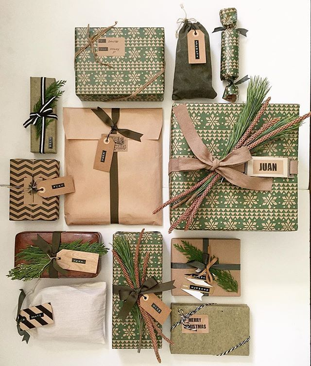 Christmas Gifts | 2017 Pantone Colour, Greenery.