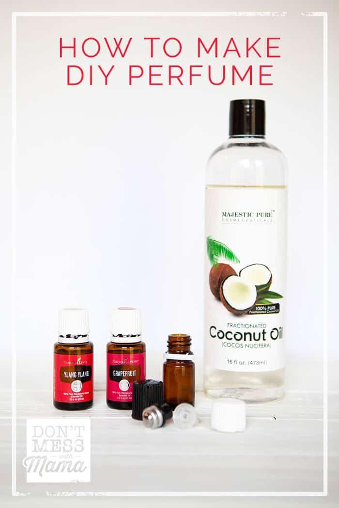 How To Make Diy Perfume Diy Perfume Homemade Perfume Essential Oil Perfumes Recipes