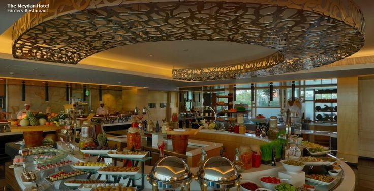 Farriers International restaurant at The Meydan Hotel