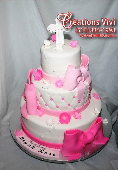 Gâteau bapteme