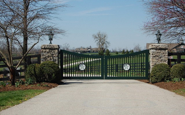 Entrance To Winstone Farm Gates Pinterest Photos