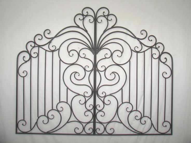 Garden Gate Wall Decor 195 best great accessories images on pinterest | irons, wrought