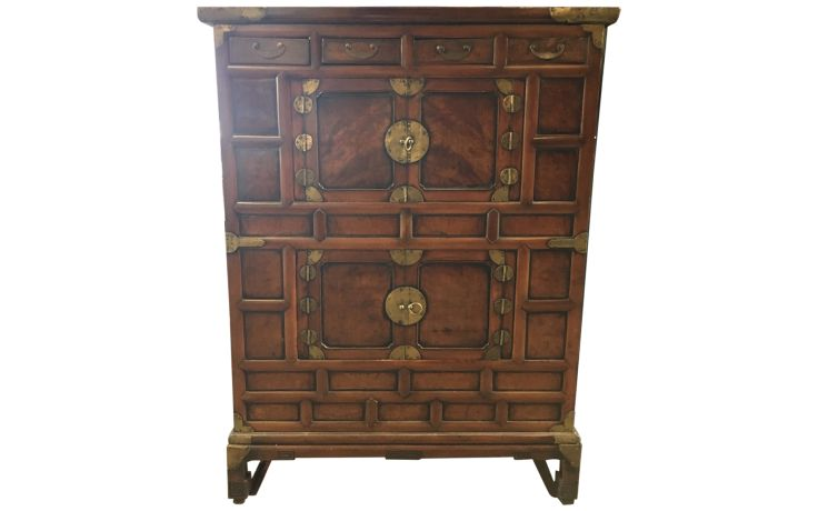 Asian Decorative Arts Asian Storage Cabinet Front