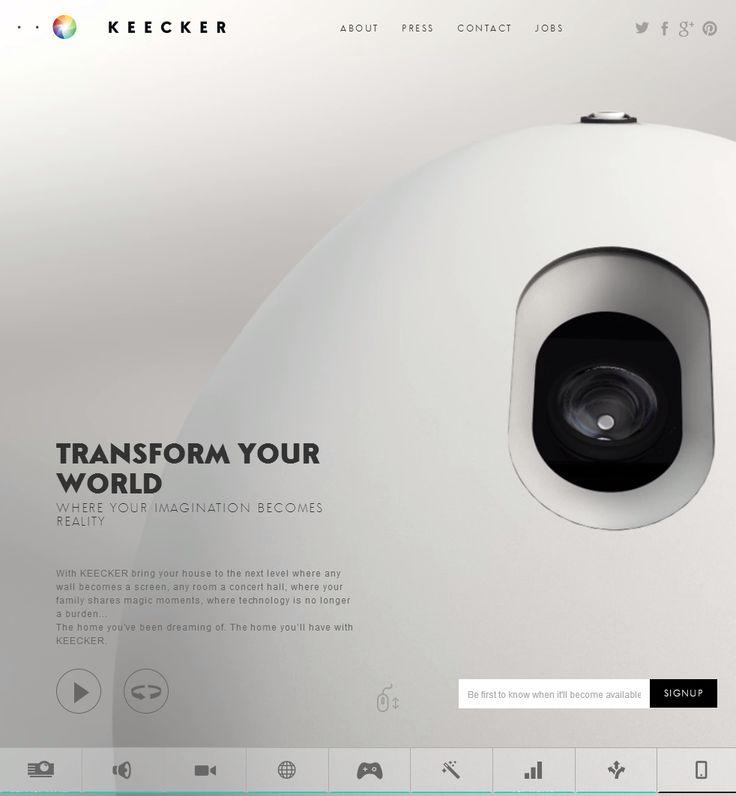 Keecker's website has been chosen as site of the day by awwwards!  Keecker, April 8, 2014. http://www.awwwards.com/web-design-awards/keecker #UI #Inspiration #Responsive #Design #Web #Interactive #Awwwards
