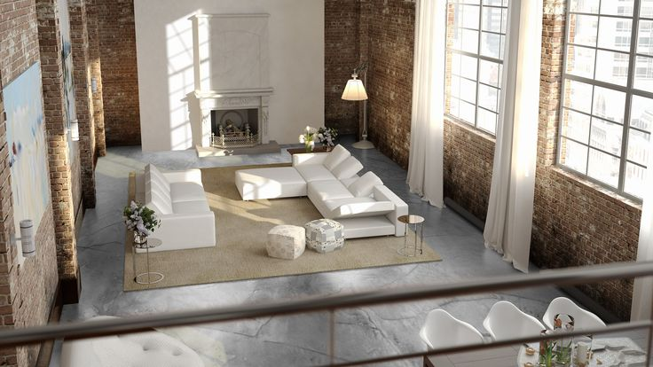 Betonlook vloer: Design gietvloer met betonlook