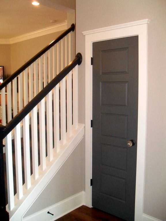 25 best ideas about painted interior doors on pinterest. Black Bedroom Furniture Sets. Home Design Ideas