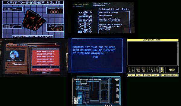 Various retro user interfaces