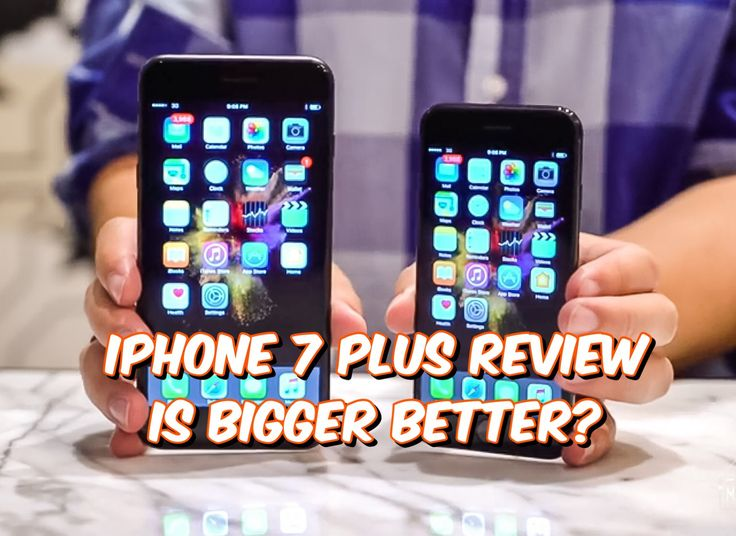 iPhone 7 Plus Review - Apples new iPhone 7 Plus is made to blow the competition out of the water, but is bigger really better?