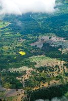 La inundación de terrenos y la salinización de los suelos en las llanuras deltaicas son algunos de los impactos causados por el ascenso del nivel del mar.