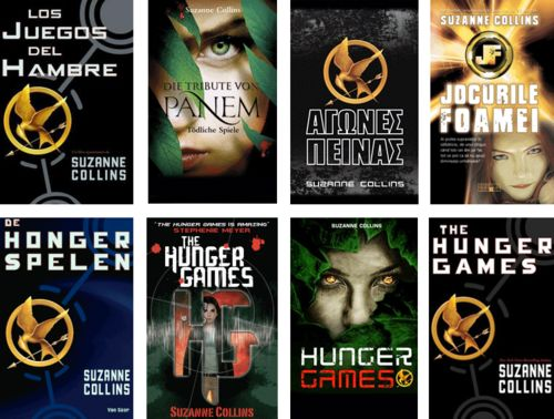 hunger games book covers from around the world