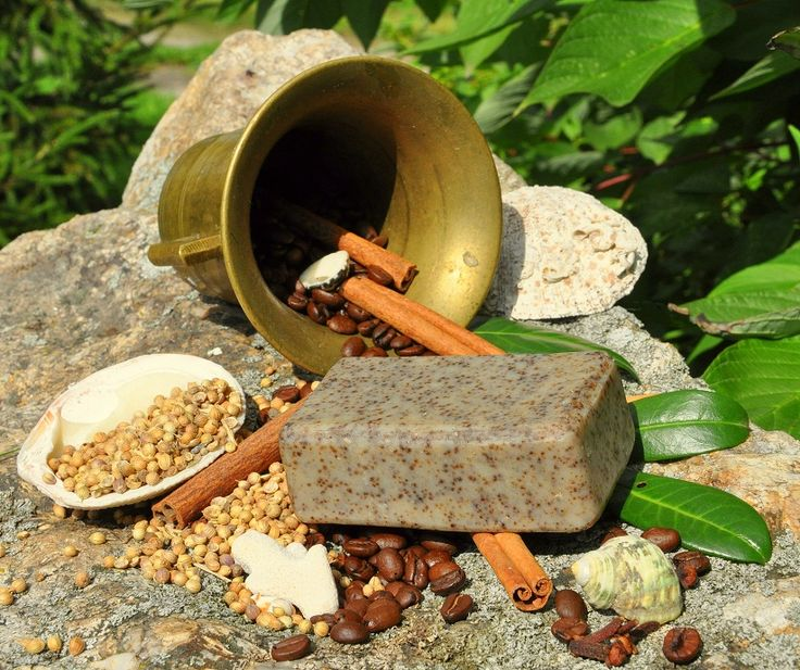 #natural #soap #handmade #organic #coffee #clove