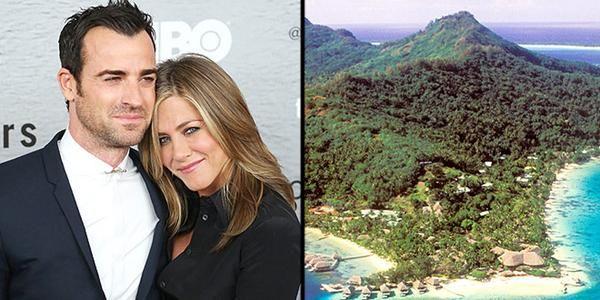 La luna di miele di Jennifer Aniston, le immagini della partenza del viaggio di nozze