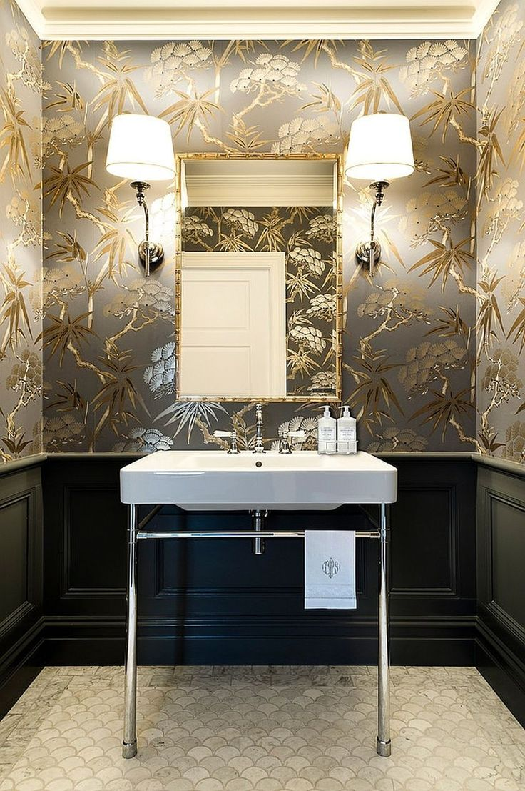 5 unique bathroom wallpaper ideas for a new look on wall coverings id=75161