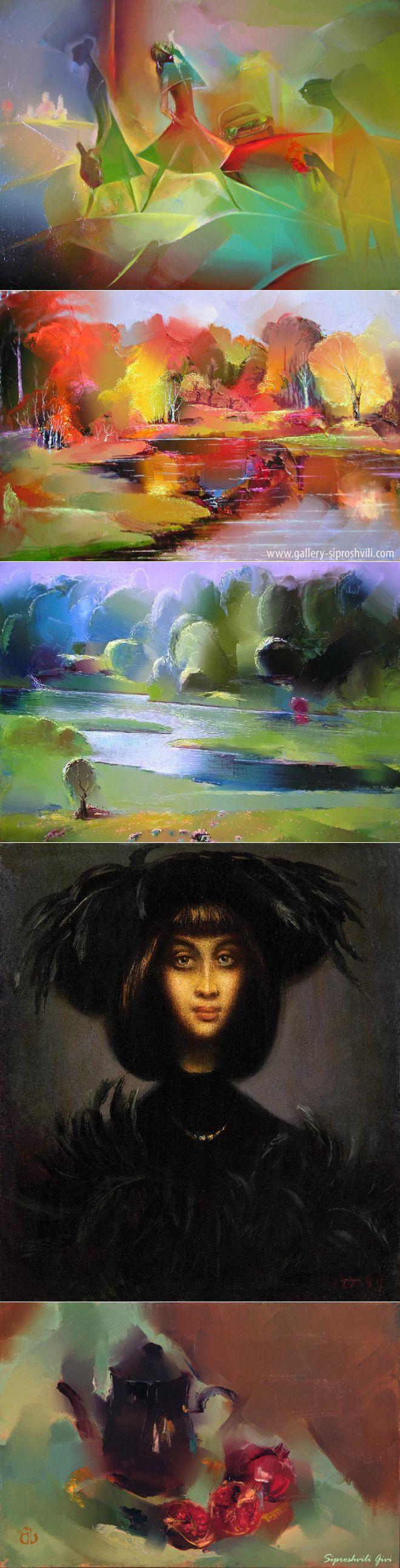 Уникальный грузинский художник Гиви Сипрошвили | Современное искусст | искусство | Постила