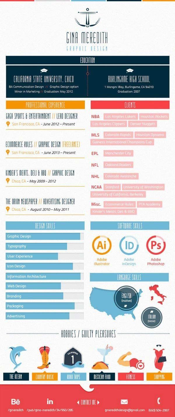 284 besten Cool CVs and resumes Bilder auf Pinterest | Kreativer ...