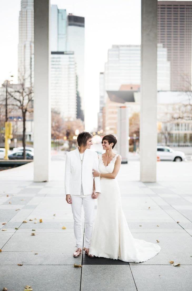 59 best Lipstick Lesbian Wedding images on Pinterest | Casamento ...