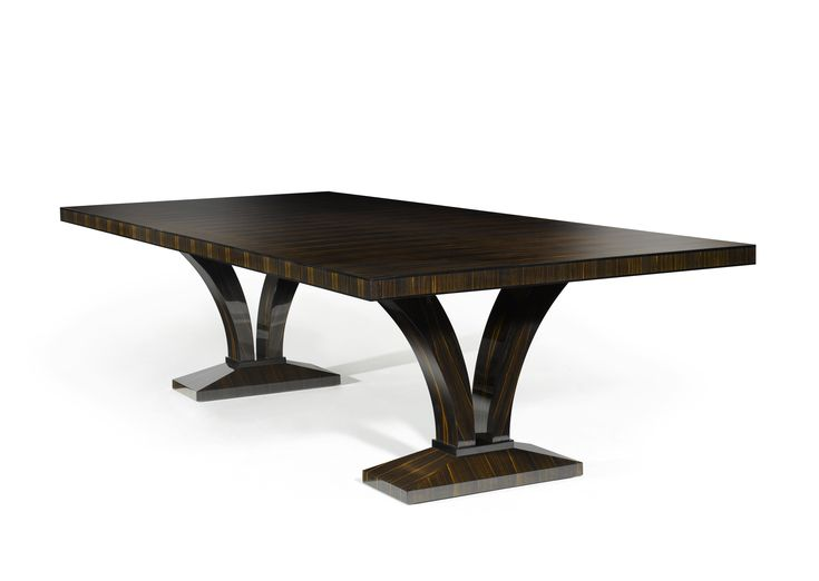 DAVIDSON London - The Porchester Table in Macassar Ebony