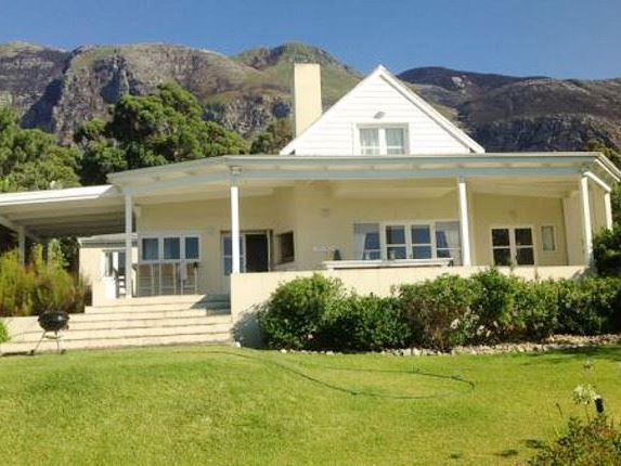 Waterside House - Waterside House lives up its name as it is situated along the banks of the Klein River Lagoon in Hermanus.  It is located within a private estate offering scenic views of the mountains and surrounding ... #weekendgetaways #hermanus #southafrica
