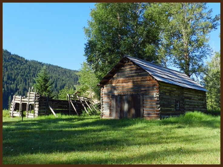 Early summer morning at Quesnel Forks July 2014