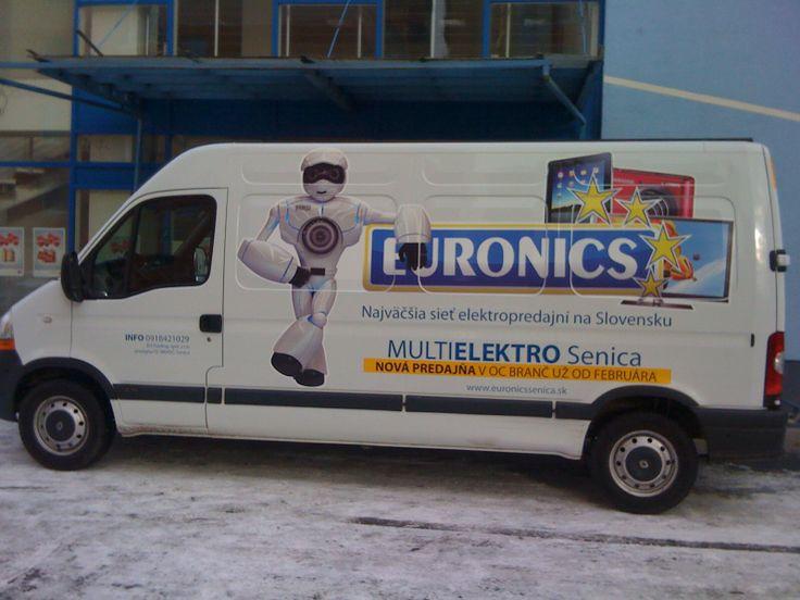 Polep auta Euronics
