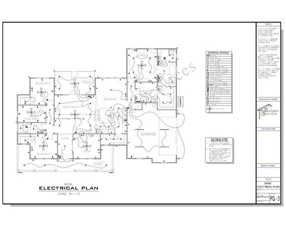 electrical plan new home the ellermont custom craftsman house plan craftsman house  custom craftsman house plan
