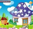 Smurf House Decorating - http://owlgames24.com/smurf-house-decorating/