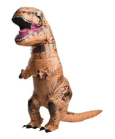 Another great find on #zulily! Jurassic World Inflatable T-Rex Costume - Adult by BuySeasons Direct #zulilyfinds