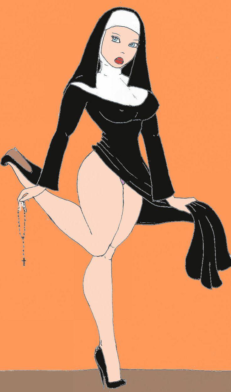 comic sexy and erotic nuns