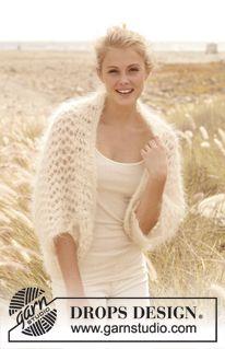 "Free pattern! Knitted bolero in ""Vienna"". Size: S - XXXL."