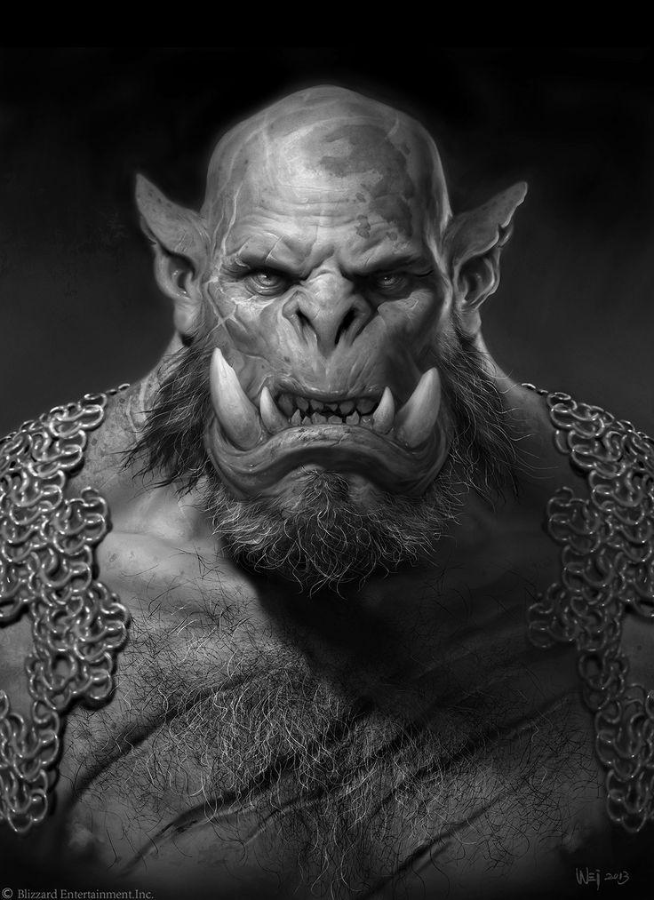 #warcraft #orc #orgrim #doomhammer