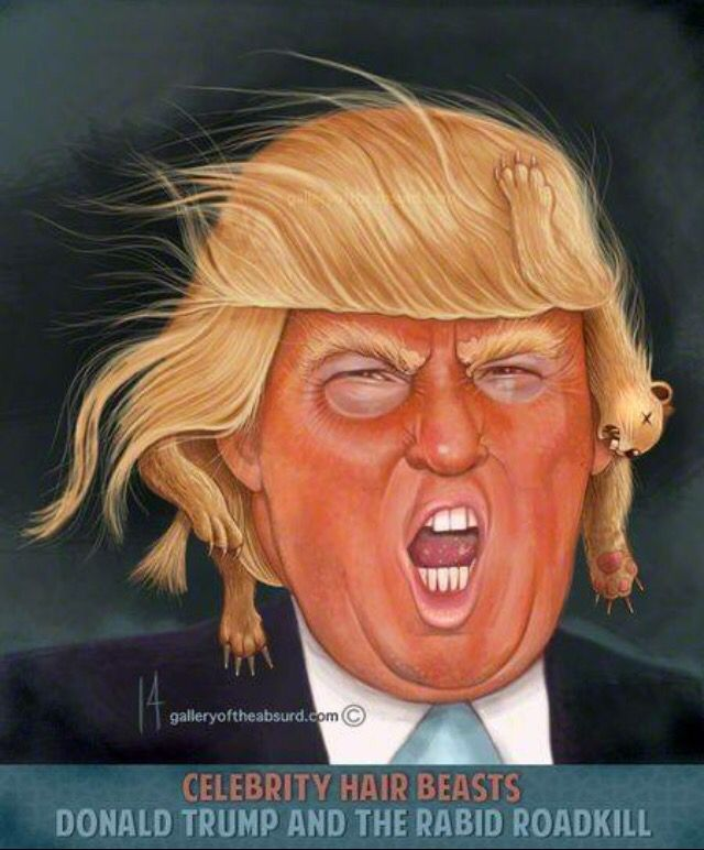 This actually is how I see this jerk. Cannot believe anyone would trust this lunatic with our country's health and safety.