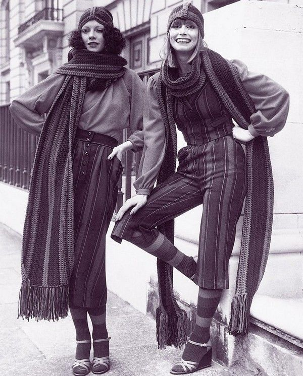 the only thing more fashionable than a great seventies outfit is two great seventies outfits!