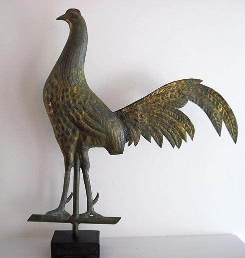 Antique Rooster Weathervane: 113 Best Rooster Weathervanes Images On Pinterest