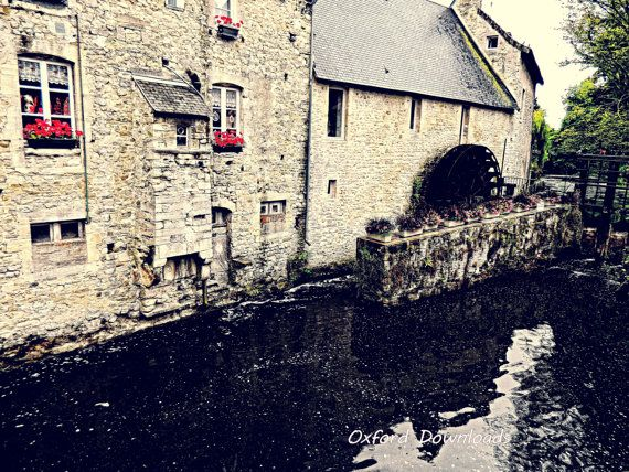 Bayeux French Countryside France Photography by OxfordDownloads