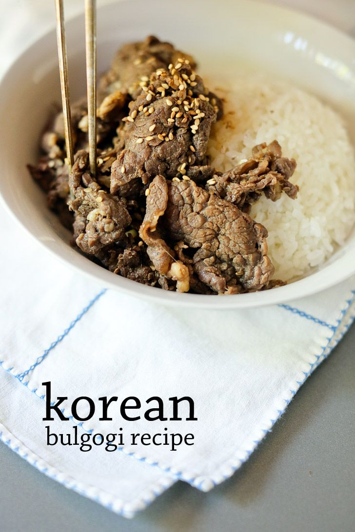 Best 25 authentic korean food ideas on pinterest korean food if youre unfamiliar with korean food beef bulgogi is a pretty classic korean forumfinder Image collections