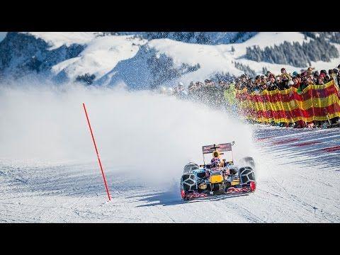 Watch Someone Drive a Formula 1 Car Down a Ski Slope - Airows