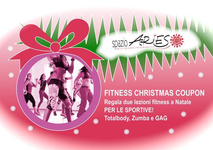 regala la #zumba e il #fitness a #Natale  info@spazioaries.it