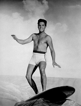 "Elvis Presley in ""Blue Hawaii,"" Paramount, 1961."