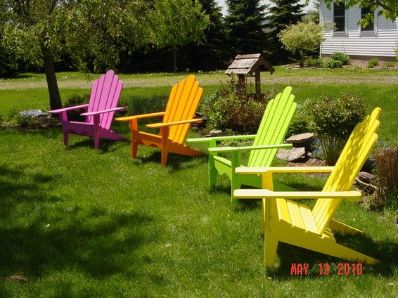 Rustic Adirondack Chair - Tim Wiley PA General Contracting