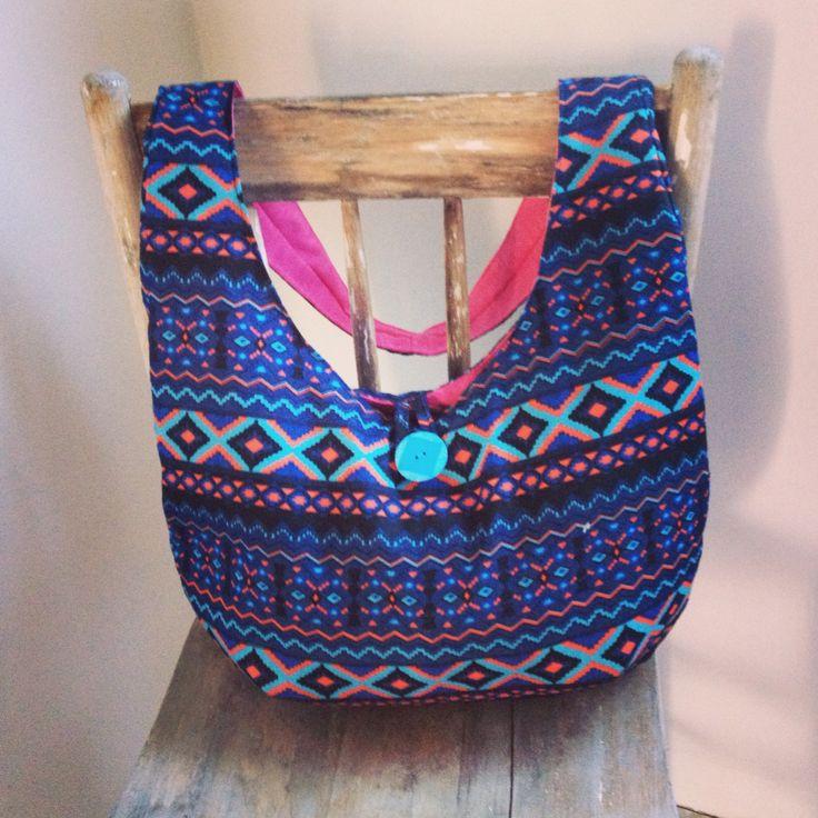 Aztec inspired cross the body bag